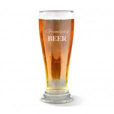 Grandpa's Premium Beer Glass