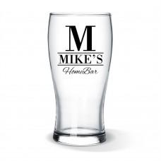 Home Bar Standard Beer Glass
