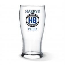 Initial Standard Beer Glass