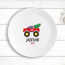 Monster Truck Kids' Plate