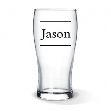 Name Standard Beer Glass