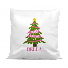 Pink Christmas Classic Cushion Cover