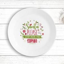 Please Stop Kids' Plate