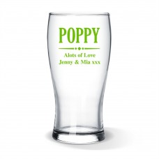 Poppy Standard Beer Glass