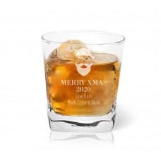 Santa Tumbler Glass