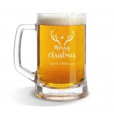 Star Glass Beer Mug