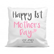 1st Mother's Day Cushion Cover