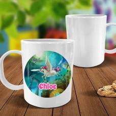 Magical Unicorn White Plastic Mug