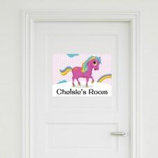 Pony Door Sign