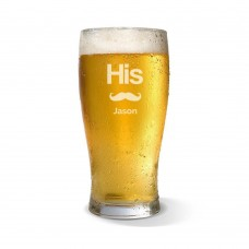 His Standard Beer Glass