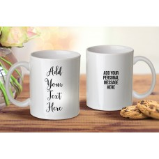 Add Your Own Message Mug