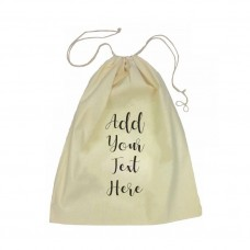 Add Your Own Message Drawstring Bag