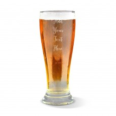 Add Your Own Message Premium Beer Glass
