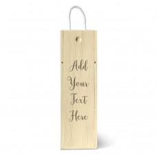 Add Your Own Message Single Wine Box