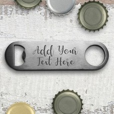 Add Your Own Message Bottle Opener