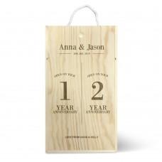 Anniversary Double Wine Box