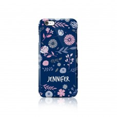 Floral Apple iPhone Case