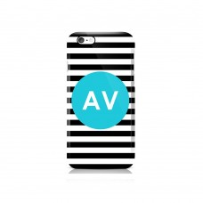 Stripy Apple iPhone Case