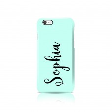 Vertical Name Apple iPhone Case