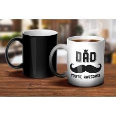 Awesome Dad Magic Mug
