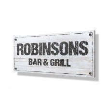 Bar & Grill Business Sign