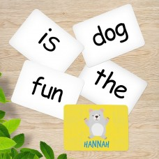 Bear Sight Word Cards