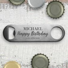 Birthday Bottle Opener