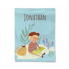 My Adventure - Reading Boy Blanket