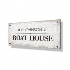 Boat House Business Sign