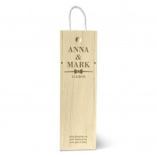 Bow Tie Single Wine Box