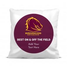 NRL Broncos Cushion Cover