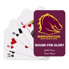 NRL Broncos Playing Cards