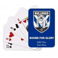 NRL Bulldogs Playing Cards