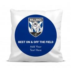 NRL Bulldogs Cushion Cover