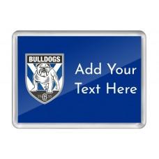 NRL Bulldogs Fridge Magnet
