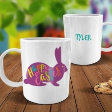 Bunny White Plastic Mug