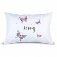 Butterflies Pillow Case