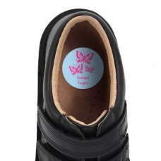 Butterflies Shoe Dot Label