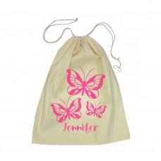 Butterflies Drawstring Bag