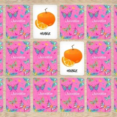 Butterfly Memory Cards