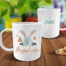 Carrots White Plastic Mug