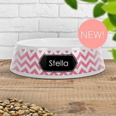 Chevron Pet Bowl