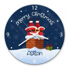 Chimney Glass Wall Clock