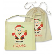 Santa Library Bag