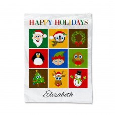Christmas Collage Blanket