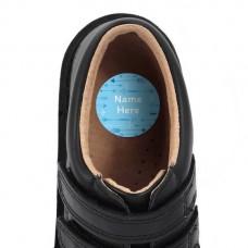 Arrow Shoe Dot Label