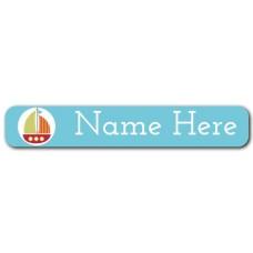 Boat Mini Name Label