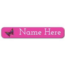 Butterfly Mini Name Label