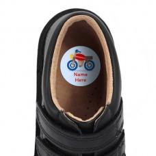 Motorbike Shoe Dot Label