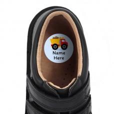 Truck Shoe Dot Label